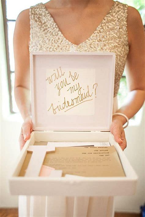 bridesmaid proposal ideas     bridesmaid