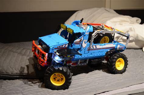 lego moc 10478 42070 c model futuristic dakar truck