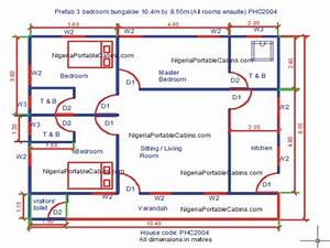 simple 4 bedroom house plans 4 bedroom house plans nigeria With simple 4 bed room plan