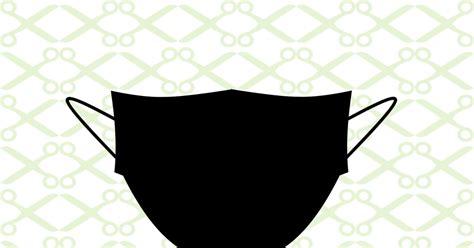 face mask svg file cricut silhouette files svg dxf eps png monogramsvgcom  svg designs