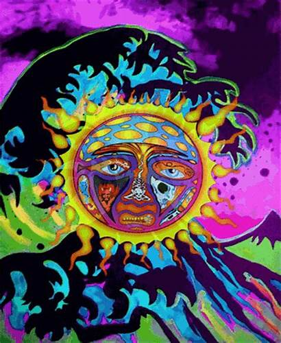 Trippy Sublime Weed Sun Smoke Psychedelic Got