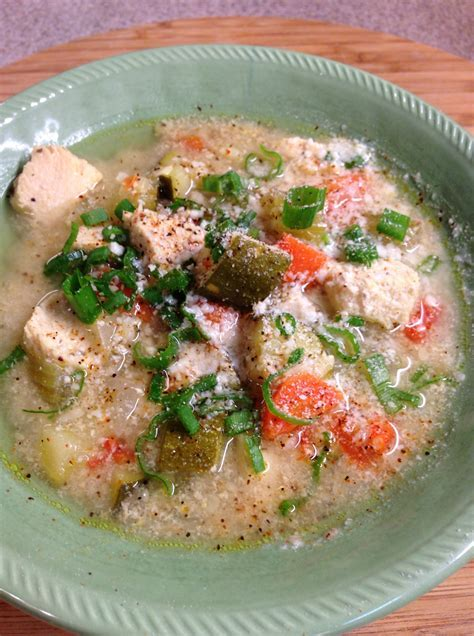 Chicken and Brown Rice Soup   Mrs. Criddles Kitchen