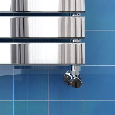 Pivot Bathroom Mirrors Uk by Chrome Bathroom Flat Panel Ladder Designer Heated Towel