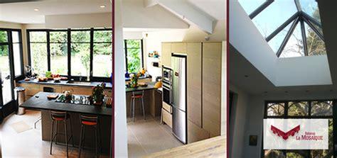 chambre avec salle de bain ouverte et dressing agrandir sa maison véranda extension de plain pied ou