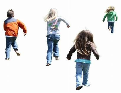 Child Playing Transparent Walking Children Background Exercise