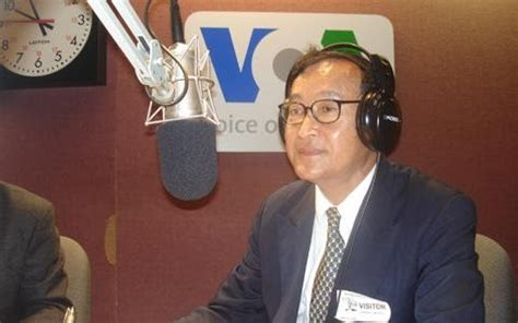 grace: Sam Rainsy Seeking Return With Elections on the