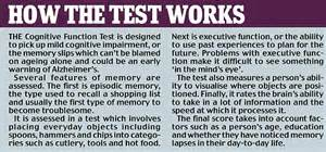 15-minute online test for dementia: DIY memory quiz ...
