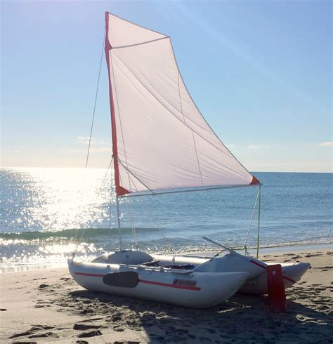 Sailing Catamaran Kit Boats by Portable Foldable Travel Sail Kit For Diy Sailing Project