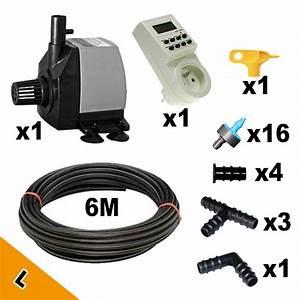 Arrosage Automatique Interieur : kit irrigation automatique mur v g tal int rieur l mat riel mur v g ~ Melissatoandfro.com Idées de Décoration