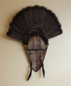turkey fan mount template 28 images the garhole diy With turkey fan mount template
