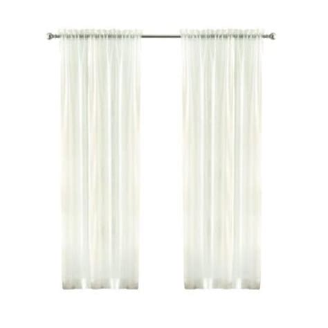 home decorators collection sheer voile rod pocket