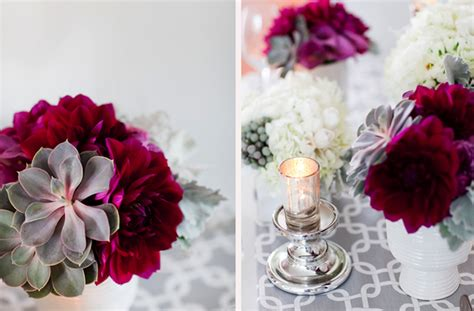 Winter Weddings, Centerpieces And Winter