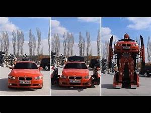 BMW Transformer Car In Real Life - YouTube