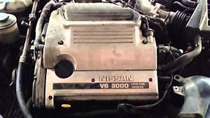 Nissan Maxima A32 3 0 V6 Engine Running