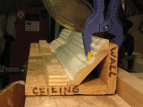 Crown Molding Jig how to make a crown molding jig a concord carpenter