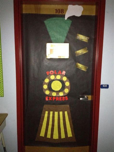 polar express classroom door design door decorating