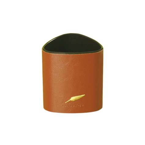 pot a crayon personnalisable pot 224 crayon en cuir gamme personnalisable avenue