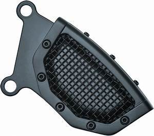 Kuryakyn 6543 Black Mesh Brake Caliper Cover 15
