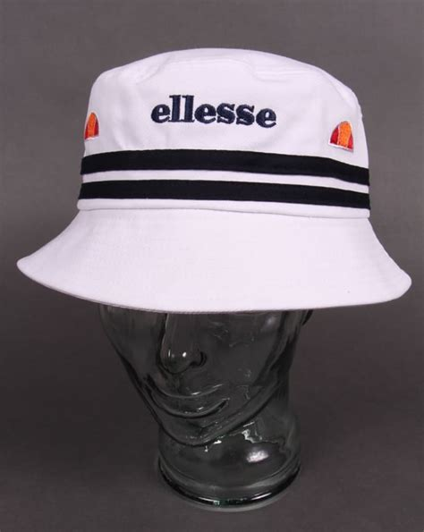 ellesse bucket  hat white  casual classics