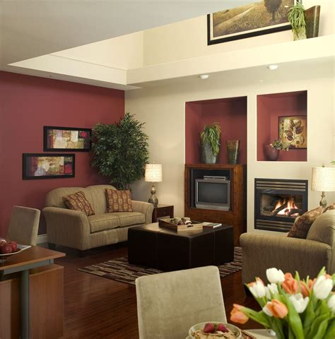 Living Room Paint Colors With Burgundy Furniture by Popular House Paint Colors For 2014 Open Shelves Wood