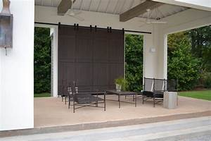architectural accents sliding barn doors for the home With barn style patio doors