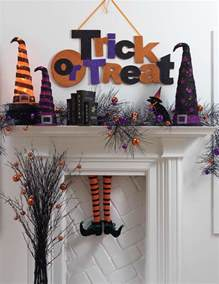 Bewitching Halloween Mantel Scarf by Twenty Halloween Mantel And More Decorating Ideas Fox