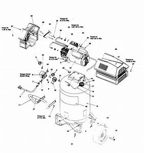 Craftsman Model 919167780 Air Compressor Genuine Parts