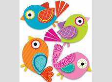 Boho Birds Mini CutOuts