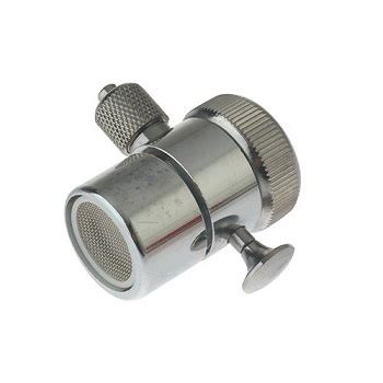 kitchen sink diverter valve bench top water filter chrome 3 8 quot diverter valve for 5710