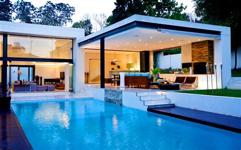 house with pool cool modern beautiful homes with pools ideas yustusa