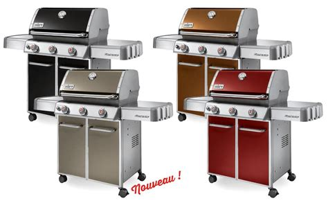 barbecue gaz castorama barbecue weber gaz e310
