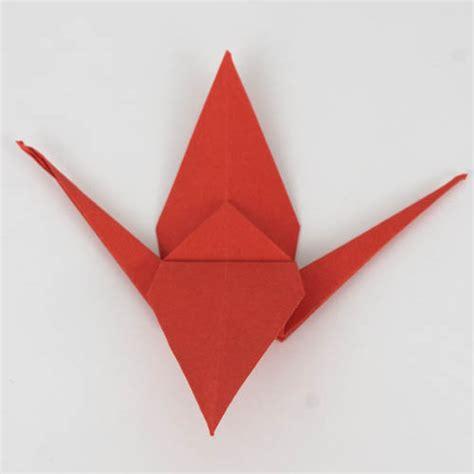 origami kranich anleitung 44 47 einfach basteln