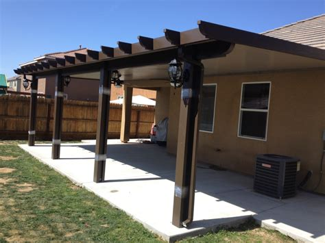 design your own patio cover steel patio cover 28 images diy metal patio cover home