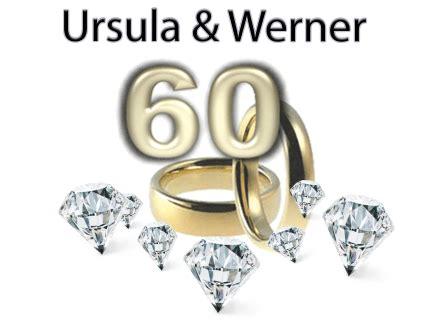 diamantene hochzeit von ursula und werner pfahl impressum