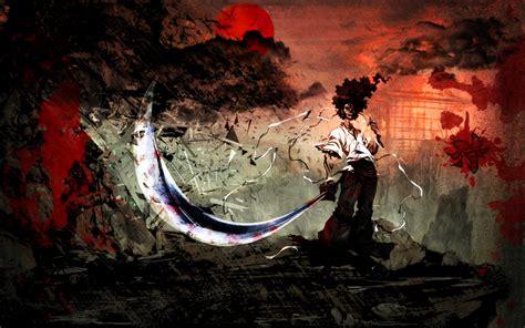 Afro Samurai Bloody Wallpaper By Whit-3 On Deviantart