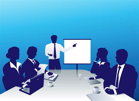 14434 business meeting clipart business conference clipart