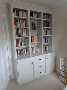 Fitted Shelving Media Office Study