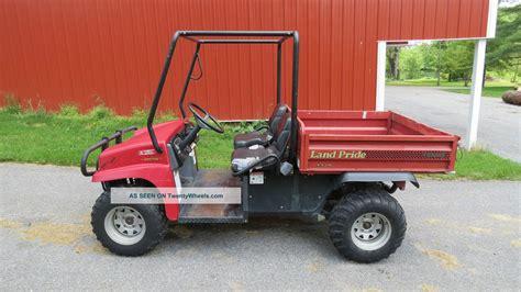 electric 4x4 vehicle 2007 land pride treker 4410 4x4 utility vehicle by