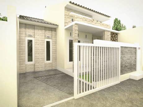 Tentunya, desain rumah minimalis dengan batu bata ekspos juga demikian. Pagar Tembok Rumah Minimalis Type 36 Paling Mantap 2020