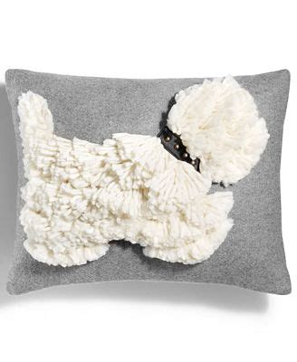 closeout martha stewart collection stand out scottie quot quot decorative pillow created for