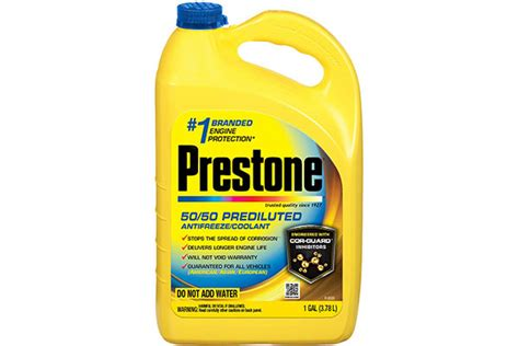 Best Antifreeze (and Coolants