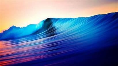 Waves Wave Wallpapers Ocean Colorful Desktop Iphone
