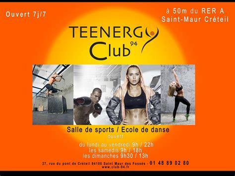 salle de sport maur creteil teenergy club 94 224 maur des foss 201 s tarifs avis horaires essai gratuit