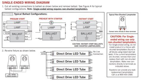 single ended wiring diagram led  premier lighting