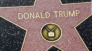 Donald Trump's star on Hollywood Walk of Fame vandalized ...