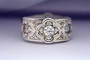 2018 popular renaissance style engagement rings for Stylish wedding rings