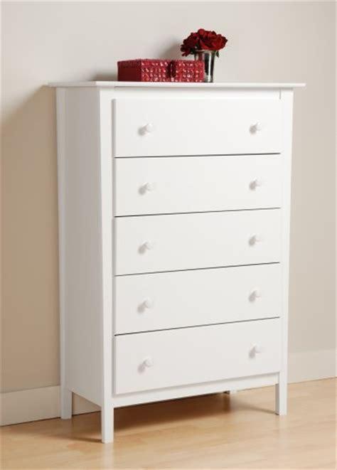 White Dresser In Store by White Bedroom Five 5 Drawer Dresser Chest Storage