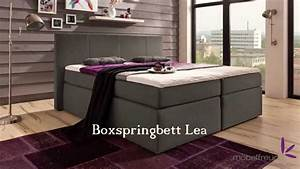 Möbelfreude Boxspringbett Bea : boxspringbett bea lea sandy kaz 01 aufbau video von youtube ~ Bigdaddyawards.com Haus und Dekorationen