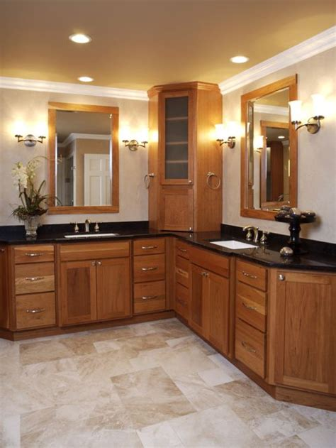Corner Double Vanity Ideas, Pictures, Remodel And Decor