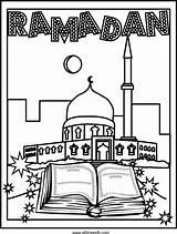 Ramadan Coloring Pages Activities Eid Crafts Printable Arabic Arabicplayground Islamic Sheets Islam Cards Decorations Worksheets Mubarak Studies Fun Kleurplaten Al sketch template
